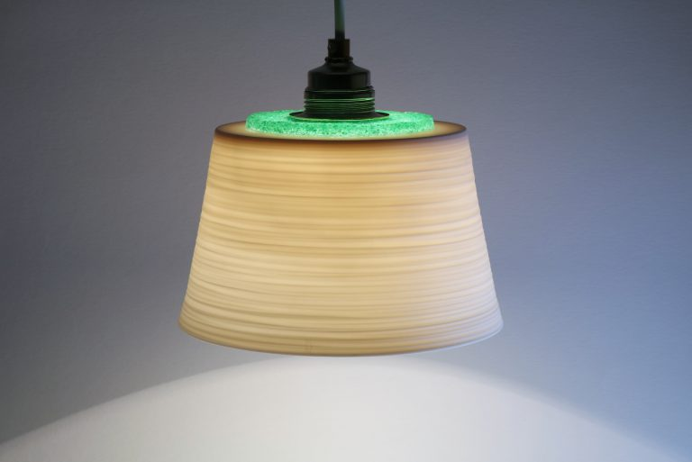 Porzellan Lampe