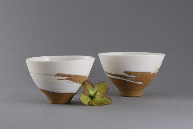 Ton und Porzellan Teeschalen