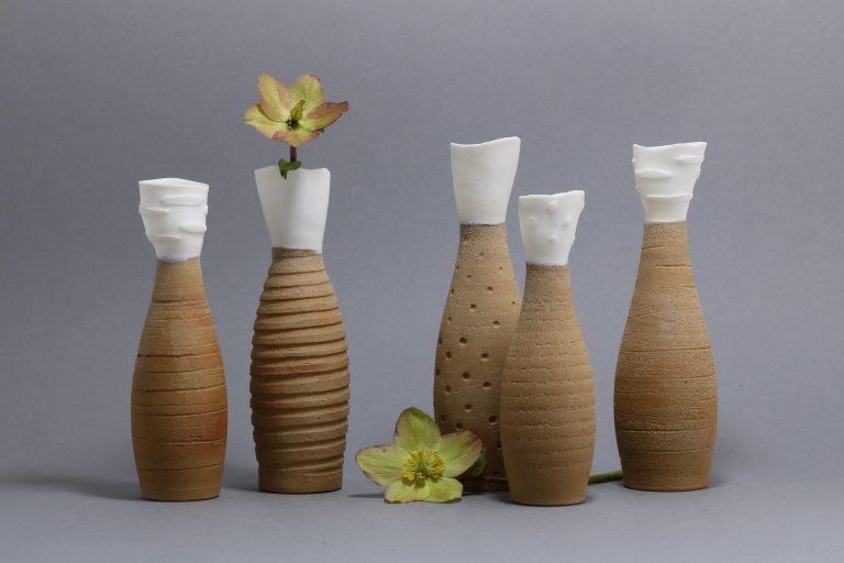Ton und Porzellan Vasen